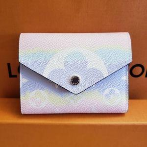 Louis Vuitton Escale Victorine Wallet in Pastel